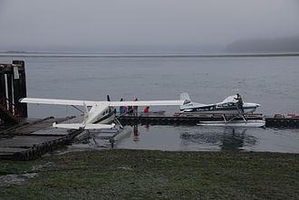 Tofino Harbour Water Aerodrome - Two Tofino Air aircraft