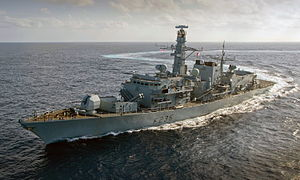 Type 23 Frigate HMS Monmouth Sails for the Middle East MOD 45152712.jpg