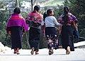 Tzotzil Women and Girl - Zinacantan - Chiapas - Mexico.jpg