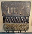 U-534 Enigma machine (30490532662).jpg