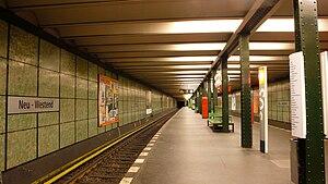 Neu-Westend (Berlin U-Bahn) - Platform view