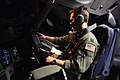 U.S. Air Force Capt. Christopher Mahan, a C-17 Globemaster III aircraft pilot with the 10th Airlift Squadron, loads information into a C-17 system at Hurlburt Field, Fla., April 25, 2013, during exercise Emerald 130425-F-IO684-1000.jpg