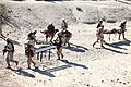 U.S. Marines with Combat Logistics Regiment 2, 2nd Marine Logistics Group, undergo realistic combat training for first responders during Enhanced Mojave Viper (EMV), on Marine Corps Air Ground Combat Center 120906-M-KS710-058.jpg