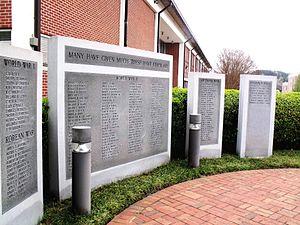 University of North Georgia - Memorial Wall
