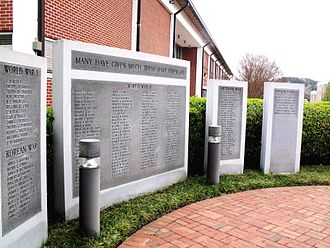 University of North Georgia - Memorial Wall