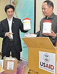 USAID Supplies personal protective equipment and disinfectant to help control infection in Vietnam. (5058779527).jpg