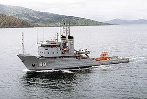 USNS Catawba (T-ATF-168) - USNS Catawba underway