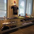 USPTO Museum shop - various kinds of T-shirts - National Inventors Hall of Fame and Museum - USPTO, Alexandria, Virginia, 2014-09-24.jpg