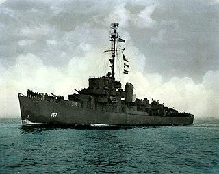 USS <i>Acree</i> Cannon-class destroyer escort