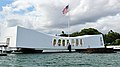 USS Arizona Memorial, World War II Valor in the Pacific Monument, Pearl Harbor, Honolulu (503637) (19931535123).jpg