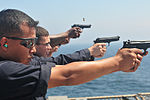 USS Blue Ridge Sailors M9 practice 140804-N-NT747-020.jpg