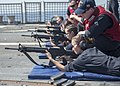 USS Bulkeley (DDG-84) sailors participating in small arms qualification training (160210-N-AO823-087).jpg