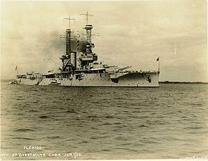 USS Florida (BB-30) - Florida in 1920
