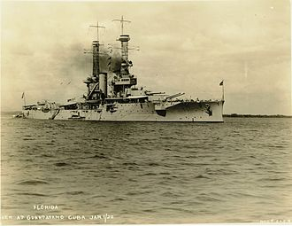 USS Florida (BB-30) - Florida in 1920