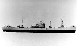 USS Grumium (AK-112) - Image: USS Grumium AK 112 October 1943
