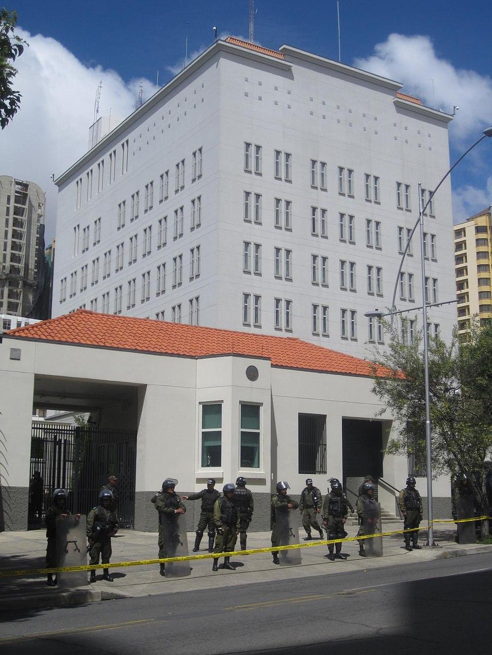US Embassy in La Paz