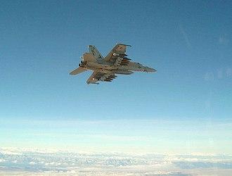 Mark 83 bomb - Ten Mark 83 bombs aboard a US Navy F/A-18E.