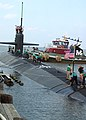 US Navy 040826-N-2820Z-003 The Los Angeles-class attack submarine USS Norfolk (SSN 714) returns to her homeport at Naval Station Norfolk, Va.jpg