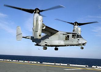 Tiltrotor - The Bell-Boeing V-22 Osprey