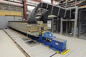 Railgun -  Electromagnetic Railgun located at the Naval Surface Warfare Center