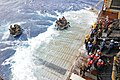 US Navy 111006-N-MW330-826 Sailors launch Marines assigned to the 31st Marine Expeditionary Unit (31st MEU) in combat rubber reconnaissance craft a.jpg