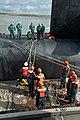 US Navy 111123-N-FG395-093 The Ohio-class ballistic missile submarine USS Tennessee (SSBN 734) returns to homeport at Naval Submarine Base Kings Ba.jpg