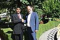 US Senate lobbyist Cary Lee Peterson & Albania Deputy MP Koco Kokedhima 5.jpg