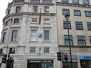 Embassy of Burundi, London - Image: Uganda House London