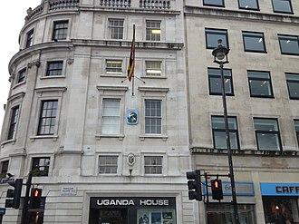 Embassy of Burundi, London - Image: Uganda House London