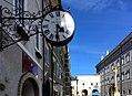 Uhrmacher Zunftzeichen, Gmünd in Kärnten.jpg