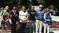 Un parque de Ciudad Lineal homenajea a periodistas asesinados en conflictos armados 04.jpg