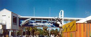 UnderWater World Sea Life Aquarium - Entrance to UnderWater World