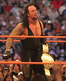 WWEs Undertaker suffers concussion, broken nose and broken orbital bone as a result of a match with another wrestler back on May 28, 2010.  (SOURCE: Wikipedia)