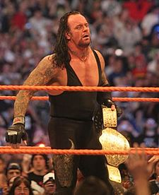 Undertaker as the World Heavyweight Championship