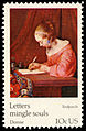 Universal Postal Union Gerard Terborch 10c 1974 issue U.S. stamp.jpg