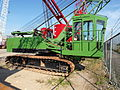 Unknown green tracked crane pic1.JPG