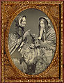 Unknown maker, American - (Portrait of Two Actresses) - Google Art Project.jpg