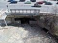 Unused portal of Salem Tunnel from above, April 2015.JPG