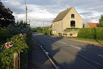 A427 road - Image: Upper Benefield geograph.org.uk 484575