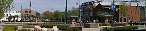 Oxford, Ohio - Image: Uptown Oxford Ohio Panoramic
