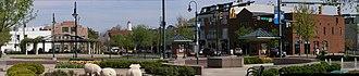 Oxford, Ohio - Image: Uptown Oxford Ohio Panoramic