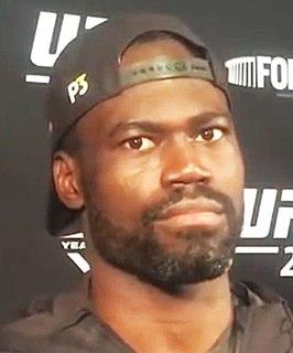 Uriah Hall Jamaican MMA fighter