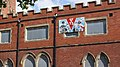 VE Day mural on a former buildings of Pontefract General Infirmary (21st June 2020).jpg