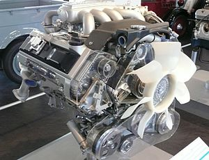 Nissan VH engine - Image: VH41DE