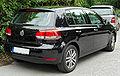 VW Golf VI rear 20100809.jpg