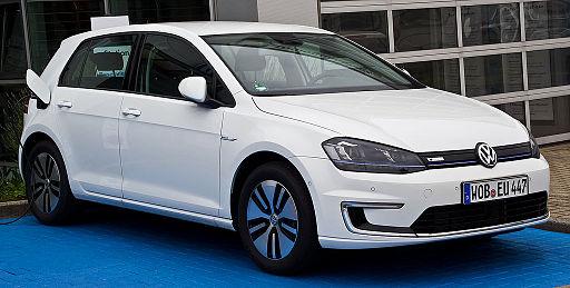 VW e-Golf (VII) – Frontansicht, 19. Juni 2014, Düsseldorf