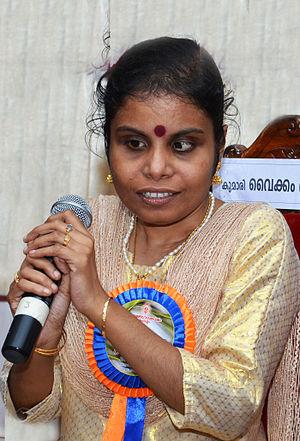 Vaikom Vijayalakshmi - Image: Vaikom Vijayalakshmi DSW