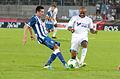 Valais Cup 2013 - OM-FC Porto 13-07-2013 - Herrera et André Ayew.jpg