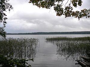 Valdaysky National Park - The eastern part of Lake Valdayskoye.