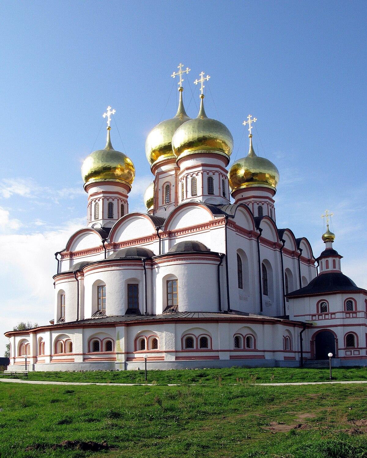 Успенский собор Иверского монастыря — Википедия